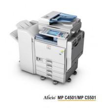 Ricoh Aficio MP C 4501/c5501 Multifunzione a Colori - Rigenerata
